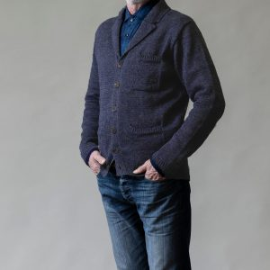 Linen Knitted Pub Jacket