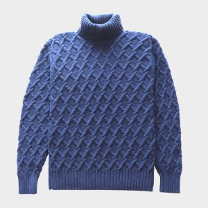 Trellis Cable Sweater