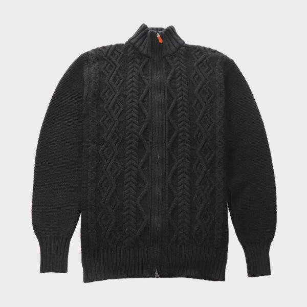 Classic Aran Design Zipper