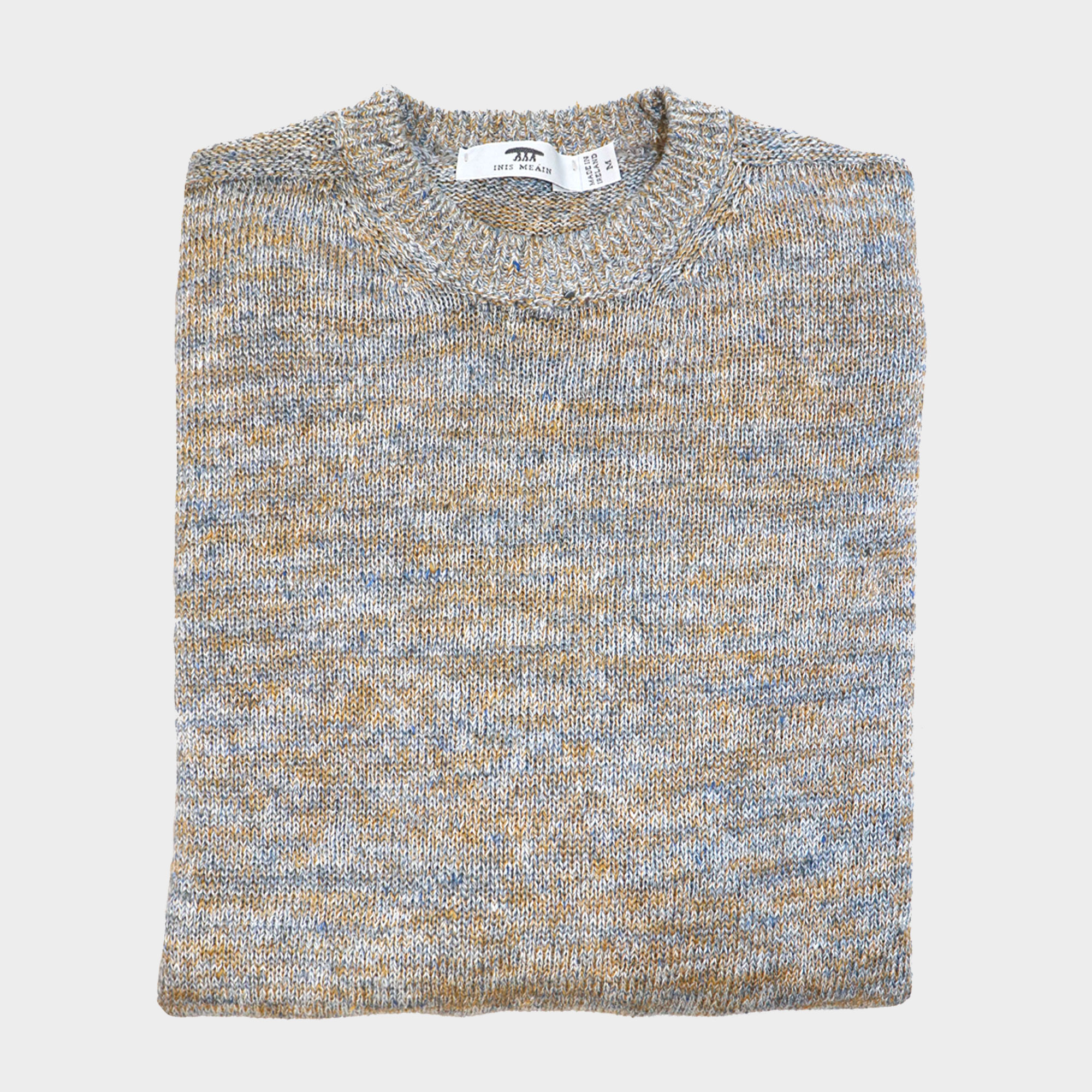 Donegal Linen Crew Neck
