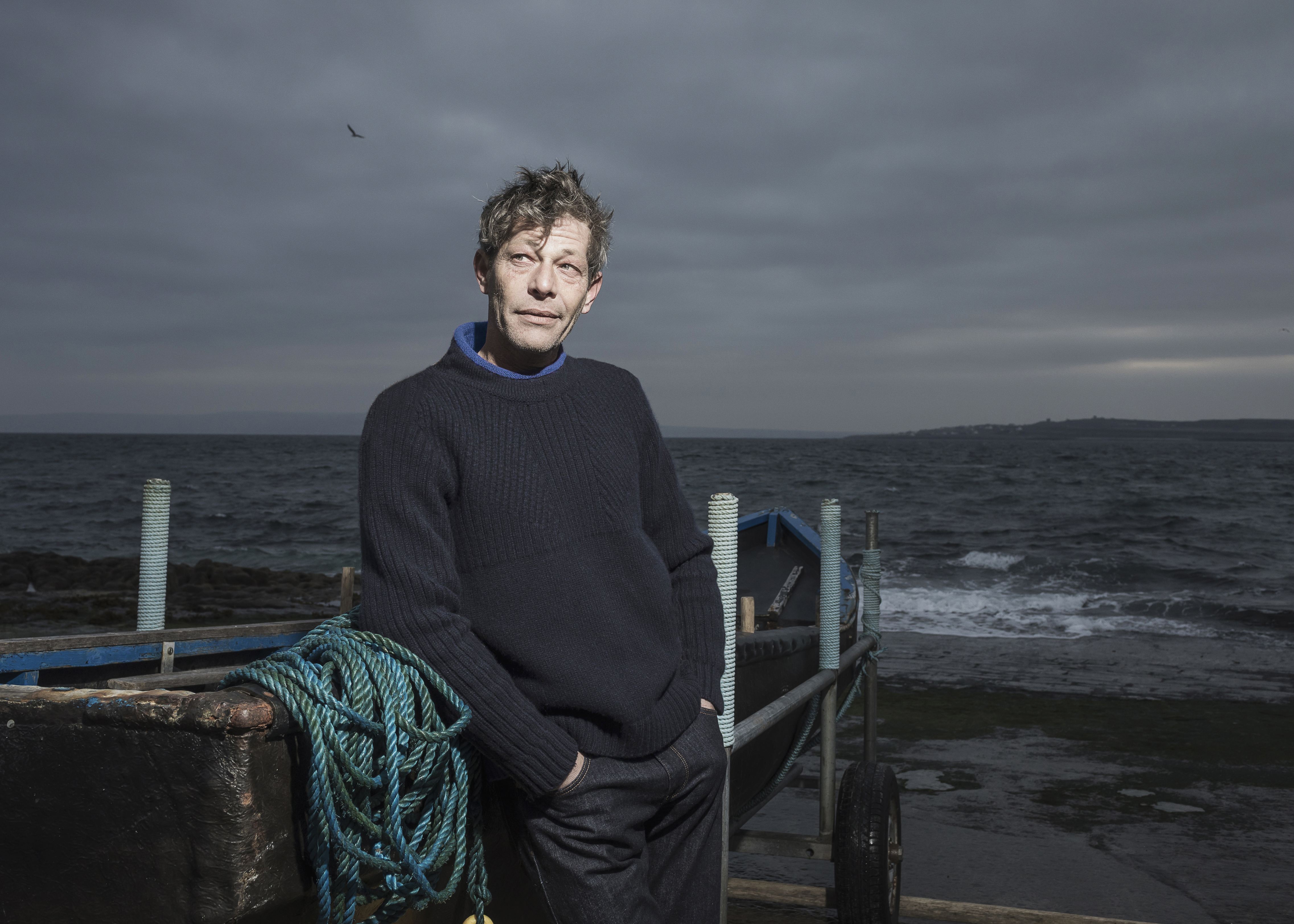 New Aran Fisherman Sweater