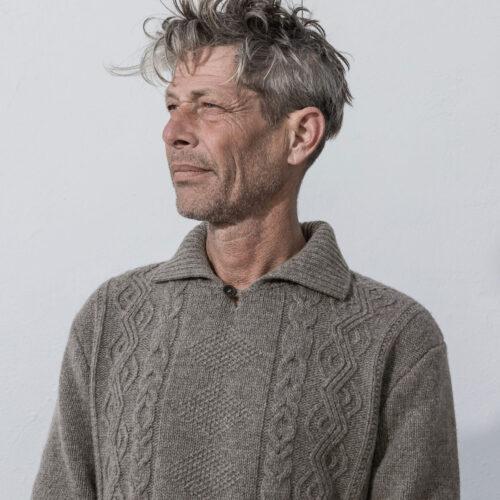 Inis Meáin Sean Óg Sweater Castoro