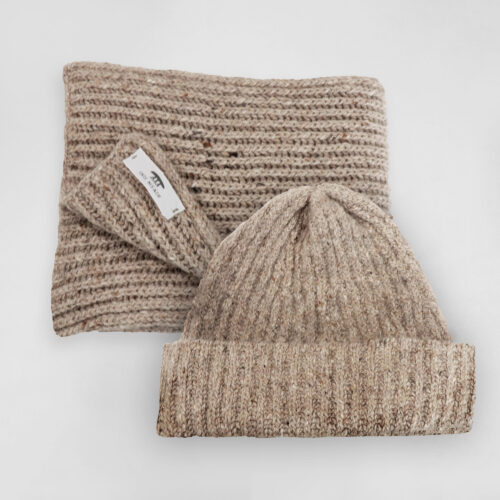 Inis Meáin Hat and Scarf Set