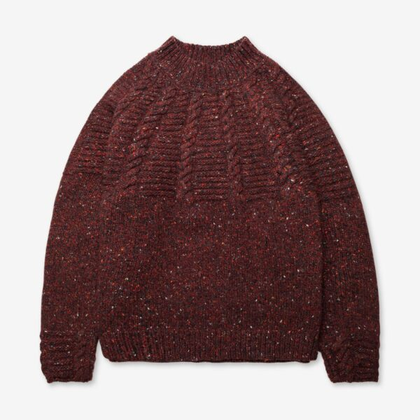 Inis Meáin Raglan Cable Sweater