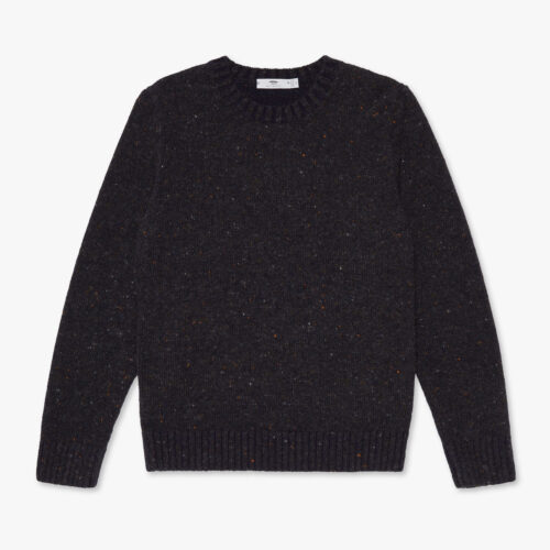 Inis Meáin Donegal Crew Neck Sweater Burren
