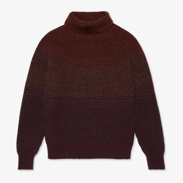 Inis Meáin Ombré Boatbuilder Sweater in Feamainn