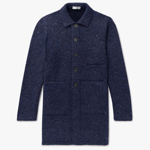 Inis Meáin Long Raftery Coat Autumn Winter 2021